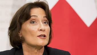 Pascale Baeriswyl leitete vorübergehend die Verhandlungen zwischen der Schweiz und der EU.