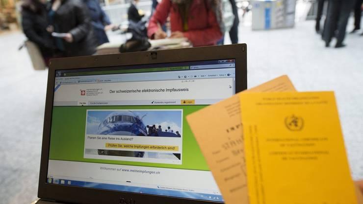Bereits heute kann man seine Impfdaten in der Schweiz elektronisch erfassen lassen.