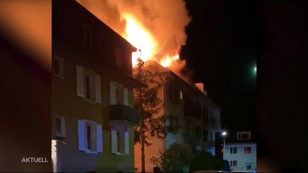 Mehrfamilienhaus Brand in Olten