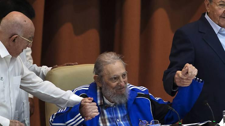 Die Universität Havanna will das Wirken des vor fünf Monaten verstorbenen Ex-Präsidenten Kubas, Fidel Castro, erforschen lassen. (Archivbild)