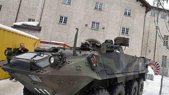 Armee zieht positive Bilanz ihres Einsatzes in Davos