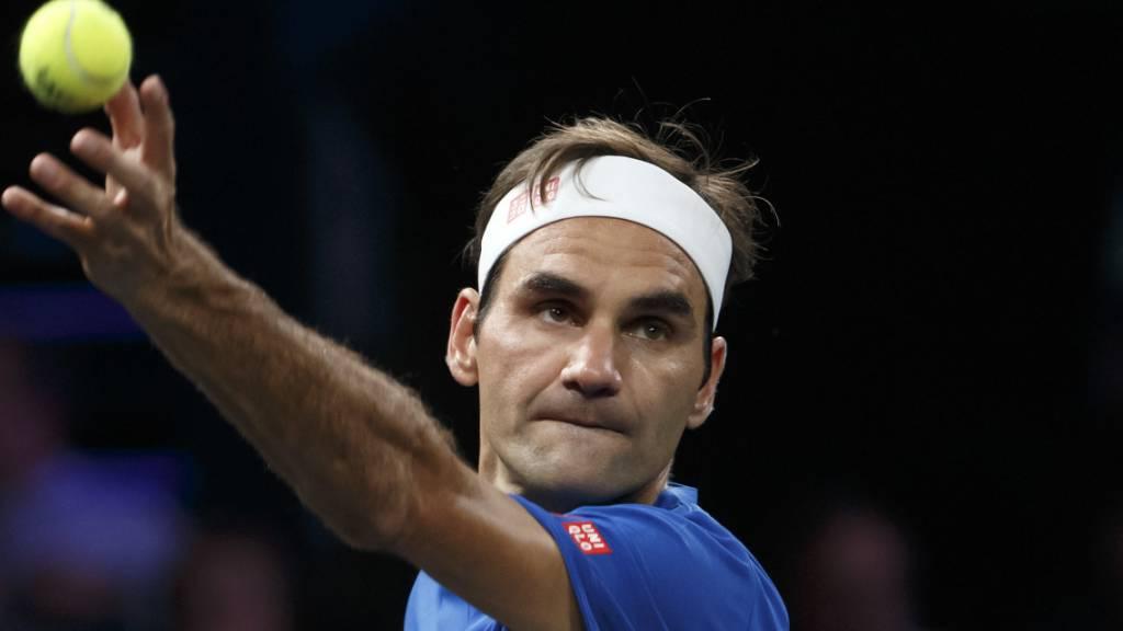 Federer in Schanghai im Achtelfinal