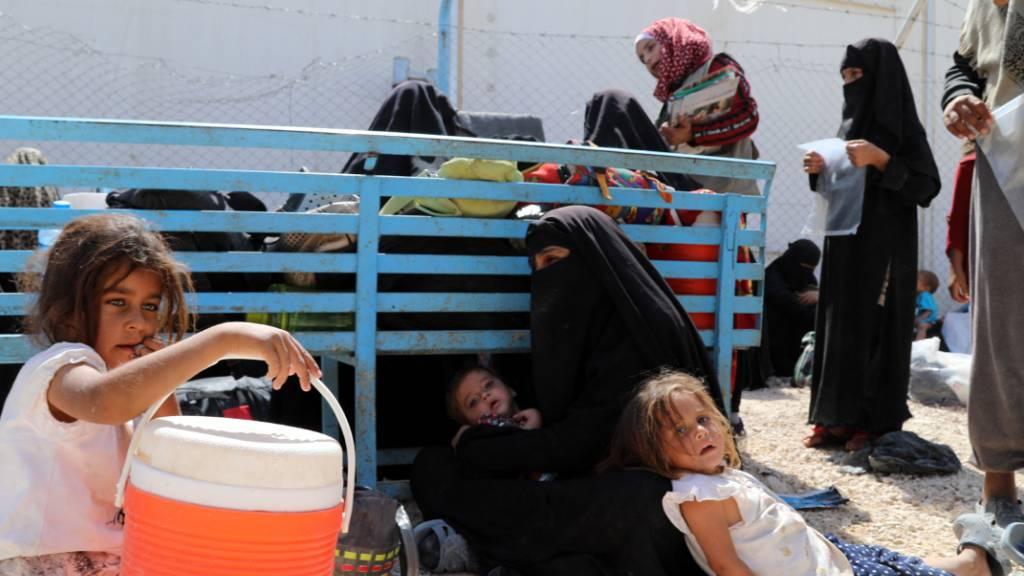 Uno: Unmenschliche Zustände in Flüchtlingslagern in Syrien