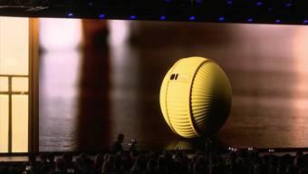 Ein Freund fürs Leben: Samsung stellt Roboter «Ballie» vor.