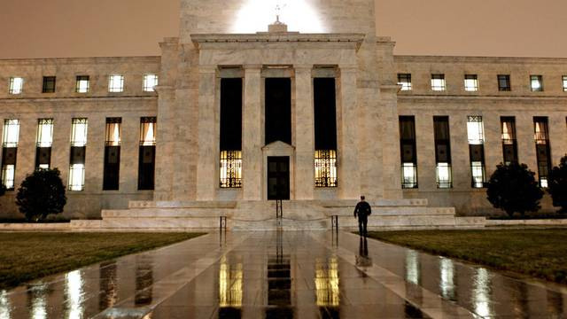 Das Fed-Gebäude in Washington: Die Notenbank weist einen Rekordgewinn aus (Archiv)