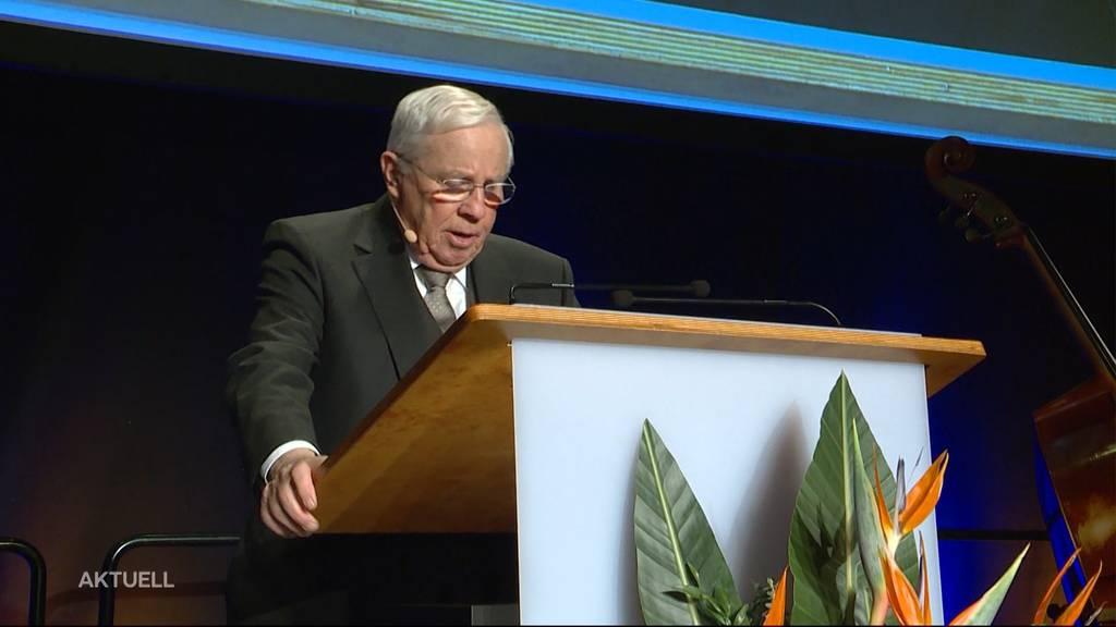 SVP-Präsidenten-Nachfolge: Blocher hält sich bedeckt