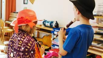 Ausdruckstherapie hilft den Kindern.