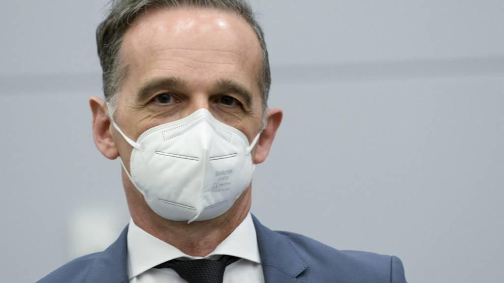 Heiko Maas (SPD), Außenminister von Deutschland. Foto: Johanna Geron/Pool Reuters/AP/dpa