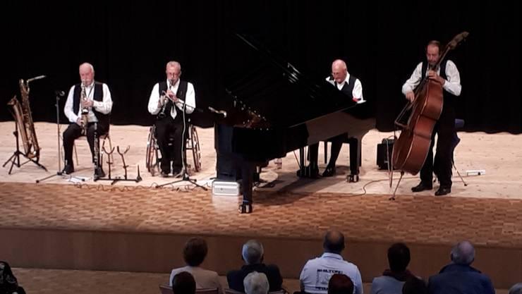 Das «New Orleans Jazz Quartet» eröffnete die Forum-Saison.