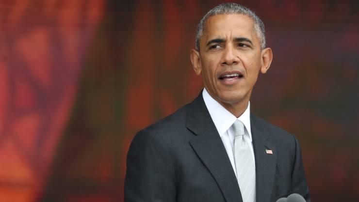 Kurz vor dem Ende der Amtszeit muss er eine schwere innenpolitische Niederlage hinnehmen: Der US-Kongress überstimmte das Veto des US-Präsidenten Barack Obama.(Archiv)