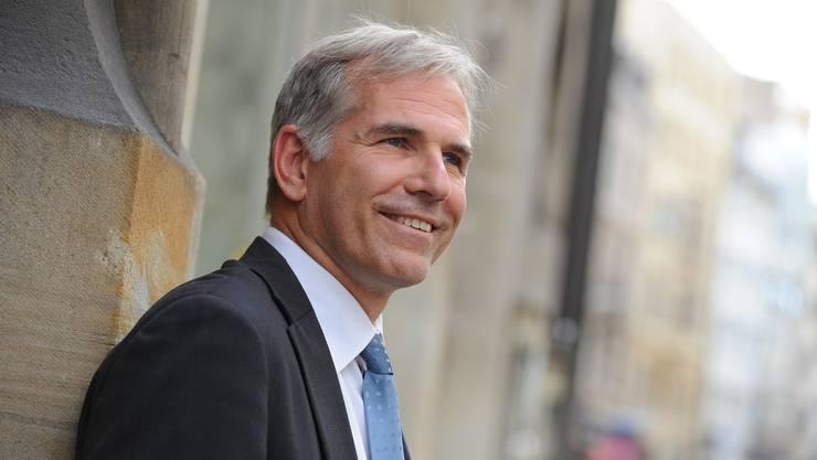 Lorenz Nägelin soll das SVP-Präsidium von Sebastian Frehner erben.