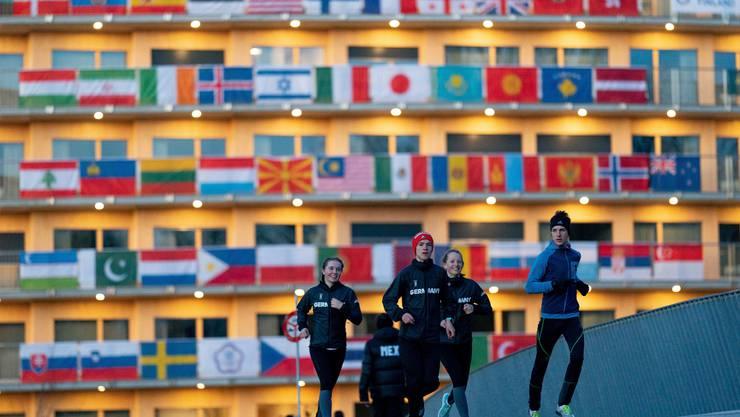 Das olympische Dorf im neuen Vortex-Gebäude ist der Treffpunkt für die Athleten aus 79 Nationen. Bild: Jed Leicester/IOC (Dorigny, 7. Januar 2020)