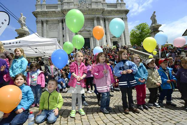 Ein farbenfrohes Fest