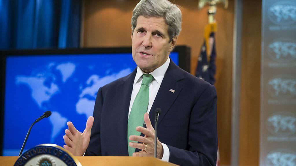 US-Aussenminister Kerry stuft die Verbrechen der IS-Miliz als «Völkermord» ein.