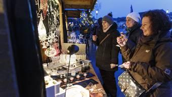 So schön ist der Weihnachtsmarkt in Solothurn