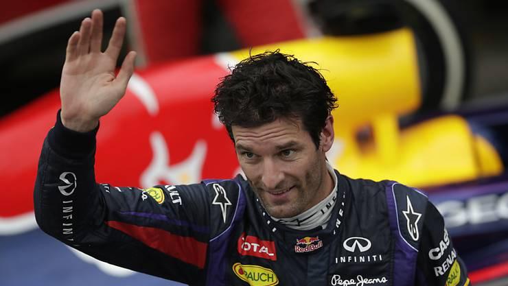 Mark Webber gewann für Red Bull neun Formel-1-Rennen und sagt Ende Saison Tschüss