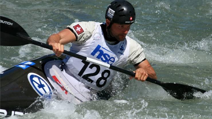 Am Weltcuprennen 2011 im slowenischen Tacen. Quelle: Keystone