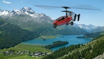 Pal-V: Das Flugauto aus Holland erreicht am Boden, sowie in der Luft Geschwindigkeiten von bis zu 180 km/h.