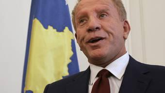 Kosovos Präsident Behgjet Pacolli ist zurückgetreten (Archiv)