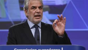 Der EU-Kommissar für humanitäre Hilfe, Christos Stylianides, teilte am Donnerstag nach einer Geberkonferenz in Brüssel mit, dass insgesamt rund sieben Milliarden Dollar zur Unterstützung der notleidenden Bevölkerung in Syrien und der Nachbarländer zusammengekommen sind. (Archivbild)
