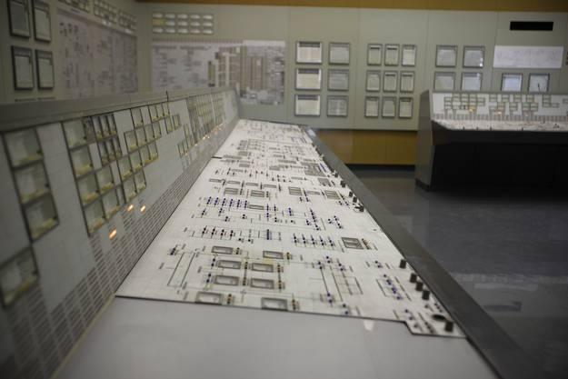 Der Reaktorkontrollraum