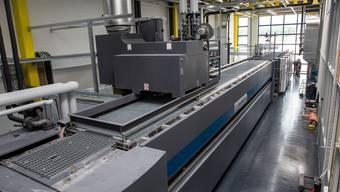 Neue Druckmaschine der Vogt-Schild Druck AG in Derendingen