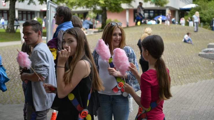 Zuckerwatte: Sehr beliebt bei den Teens