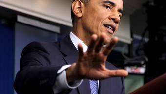 Armer Obama: Nun hagelt's auch noch familieninterne Kritik (Archiv)