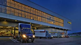 Von Kölliken aus fahren etwa die Camions der Über-Nacht-Transportfirma Quali-Night zu ihren Kunden.