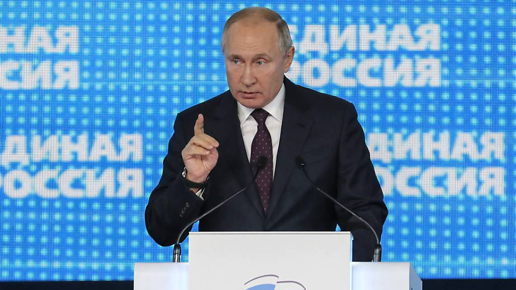 Putin: Regierungspartei muss dem Volk dienen