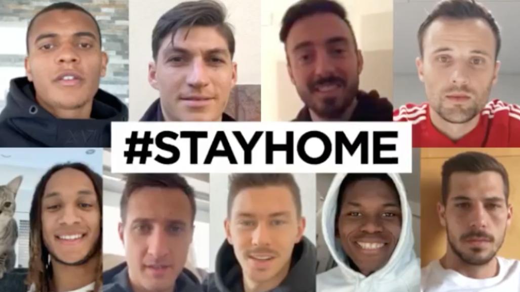 Die Schweizer Nati ruft dazu auf, daheim zu bleiben.