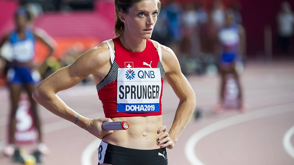 Lea Sprunger startet am Donnerstag in Oslo über 300 m Hürden