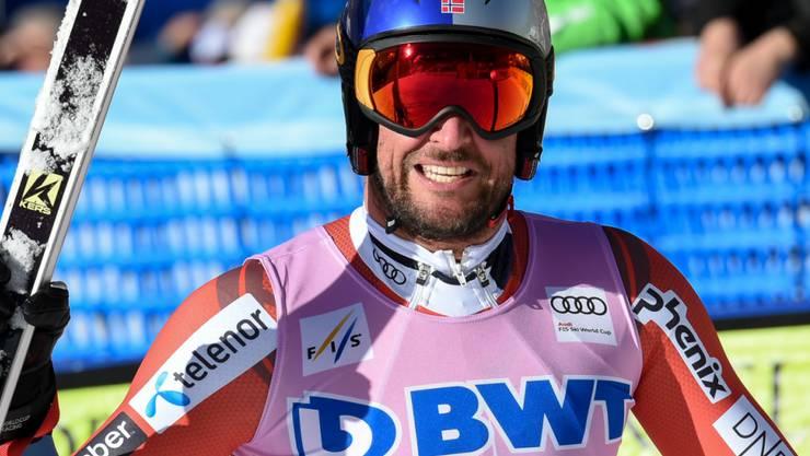 Aksel Lund Svindal hat noch zu sehr Spass am Skirennfahren, um zurückzutreten