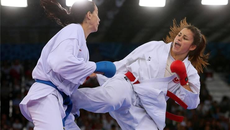 Mit dem fünften Platz an der EM ist Elena Quirici (rechts) zufrieden, mit der Leistung aber nicht.