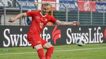 Josip Drmic ist einer von vier Schweizer WM-Teilnehmern, die bei Borussia Mönchengladbach unter Vertrag stehen.