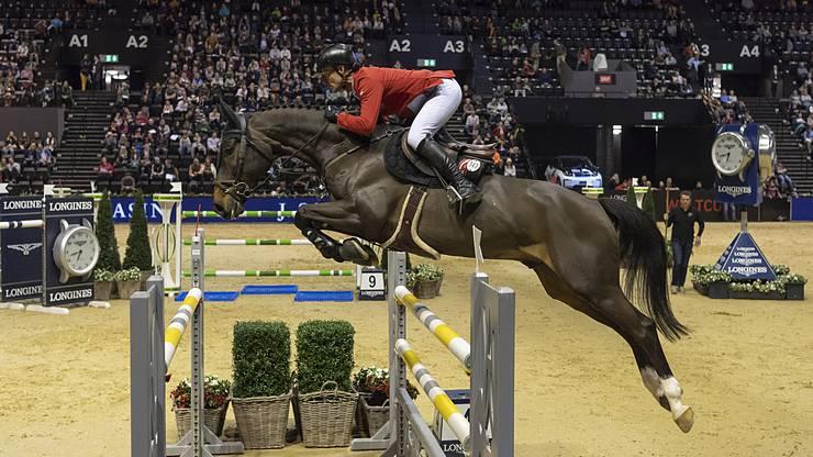 Pius Schwizer auf Balou Rubin: Der Schweizer gewann am Donnerstag gleich zwei Prüfungen.