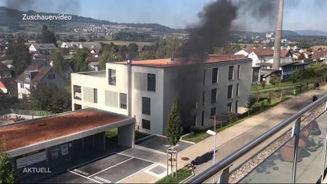Garagenbrand in Anglikon bei Wohlen