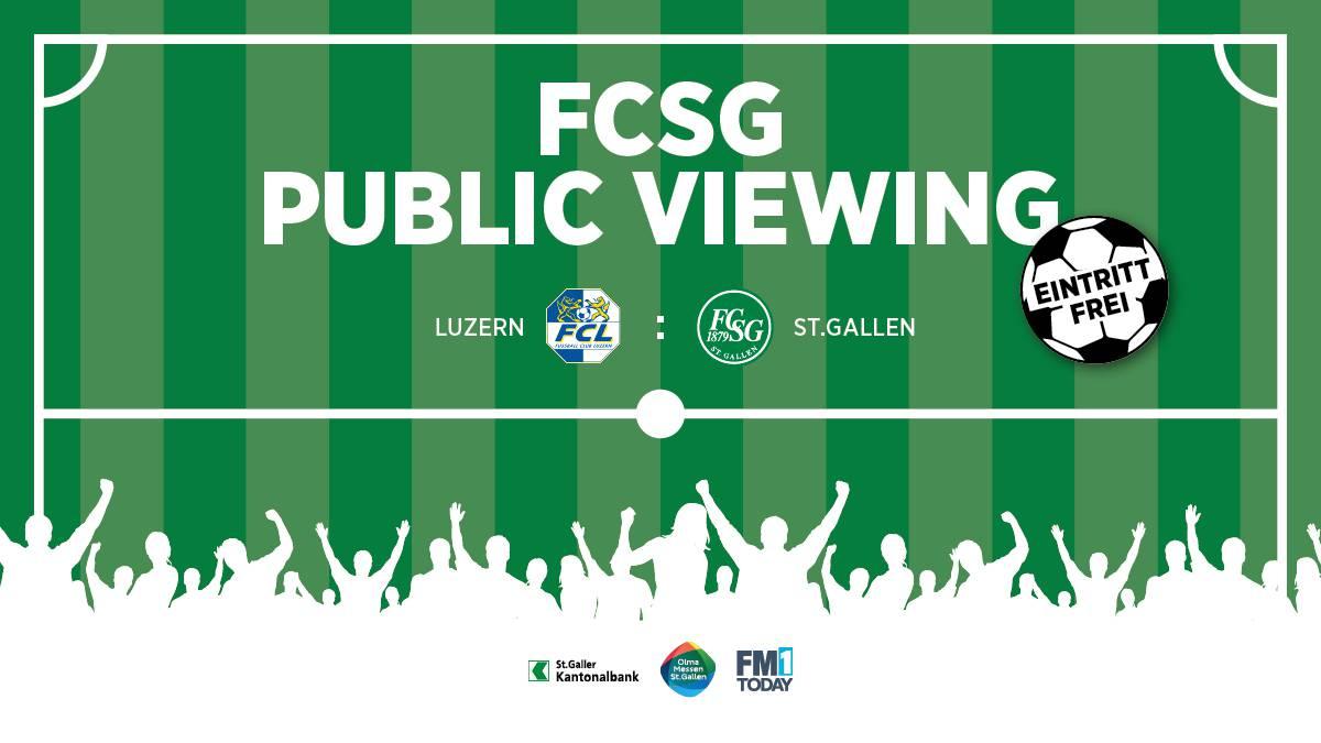Beim Public Viewing kann gemeinsam gejubelt werden.