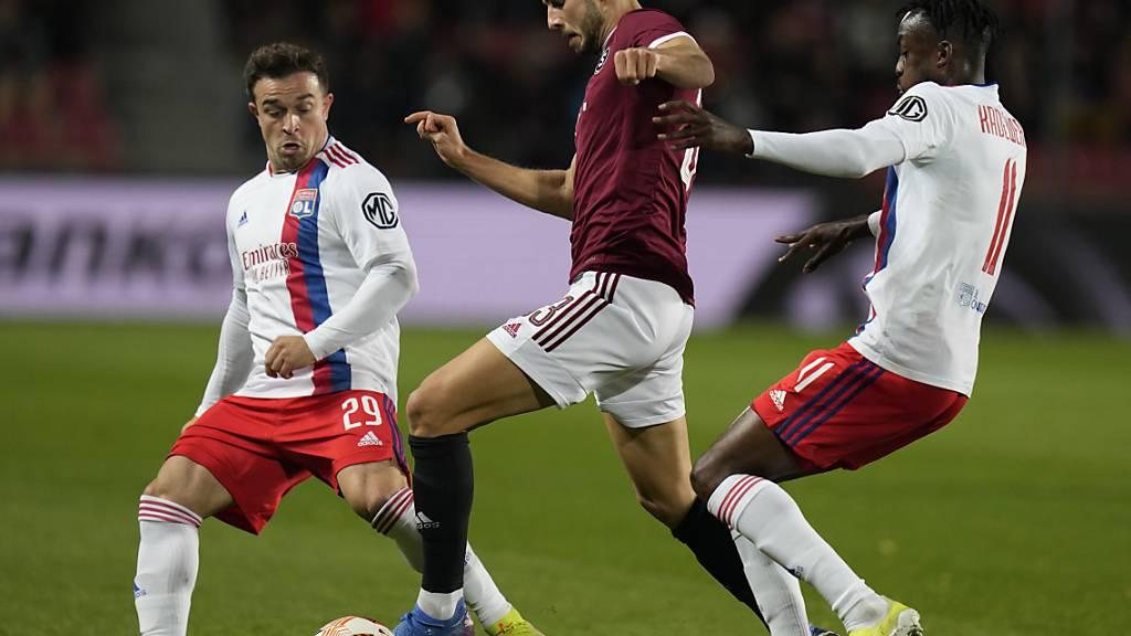 Shaqiris Lyon bleibt ohne Punktverlust