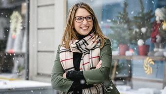 Deborah Schenker war vorher noch nie in Baden, jetzt leitet sie hier das «Hope».