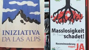 Die Alpeninitiative wurde nie vollständig umgesetzt. Droht der Einwanderungsinitiative das selbe Schicksal?