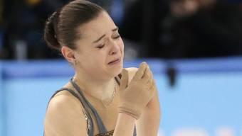 Adelina Sotnikowa holt eine zumindest fragwürdige Goldmedaille