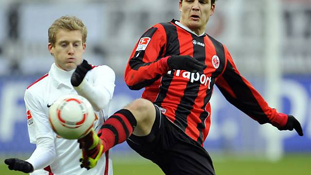 Pirmin Schwegler im ersten Heimspiel unter dem neuen Trainer Daum.