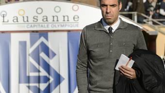Lausanne-Trainer Fabio Celestini steht mit seinem Klub kurz vor der Rückkehr in die Super League