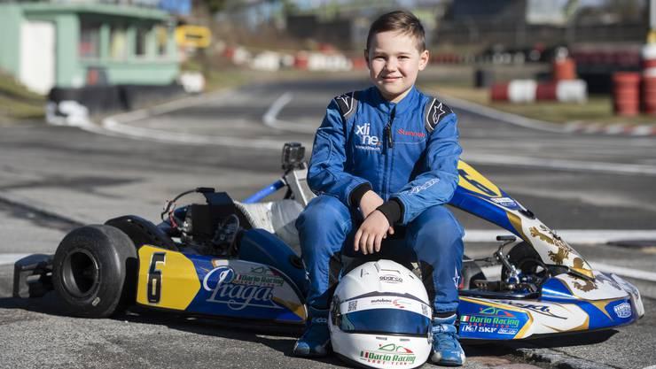 Dario Palazzolo liebt den Motorsport.