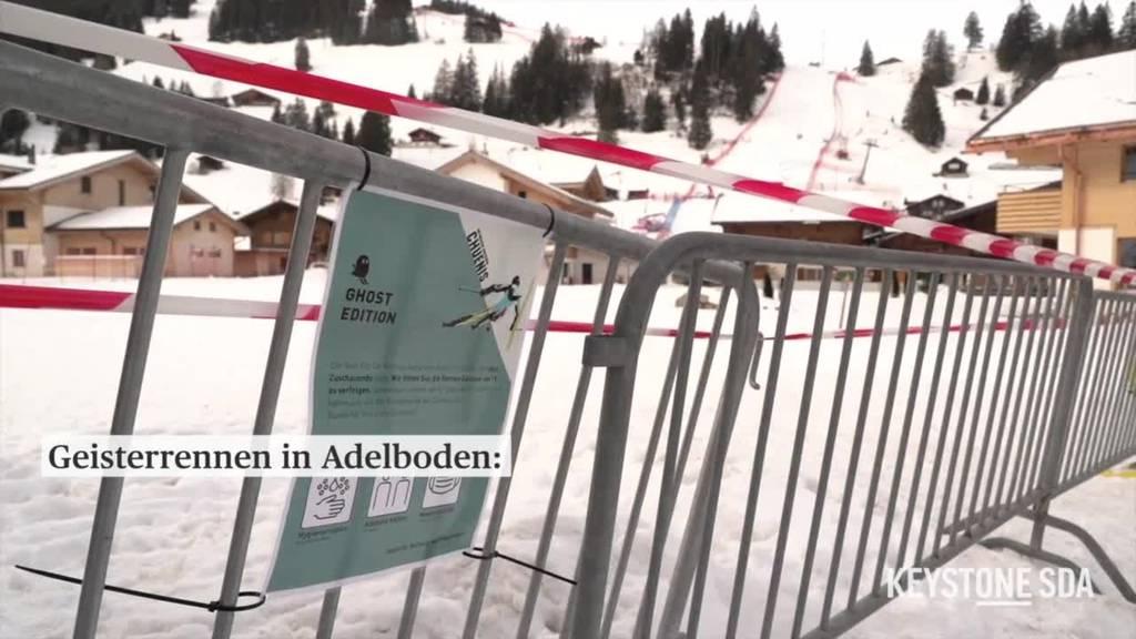 Skiweltcuprennen in Adelboden wegen Corona ohne Zuschauer