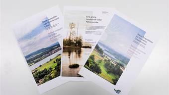 Zwei neue Broschüren bewerben das Zurzibiet als Wohn- und Wirtschaftsstandort.Bigler