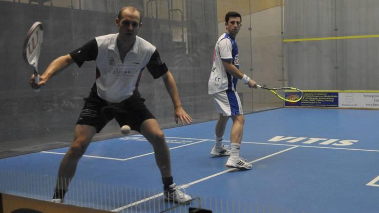 Nicolas Müller (vorn) gegen Daryl Selby