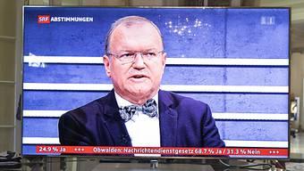 Politologe Claude Longchamp analysierte während 25 Jahren die Abstimmungsresultate im Schweizer Fernsehen (SRF). Nun ist Schluss. (Archivbild)