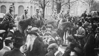 Vor hundert Jahren, am 12. November 1918, hatte in der Schweiz der Landesstreik begonnen. Am Samstag fand dazu in Olten SO eine Jubiläumsveranstaltung statt. (Archivbild)